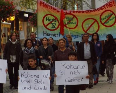 Protest Kobane Herne