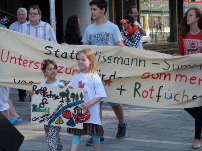 Kinder wollen aufs REBELL Sommercamp