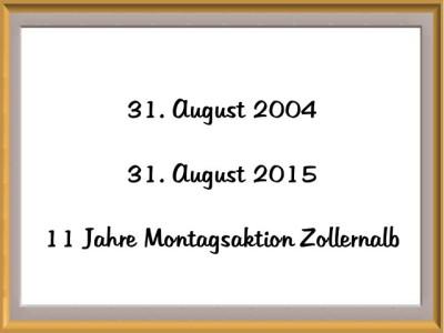 057 31.08.2015 BL Montagsaktion, 11 Jahre